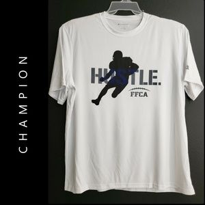 Champion Men Hustle FFCA Graphic Tee Shirt Size XL